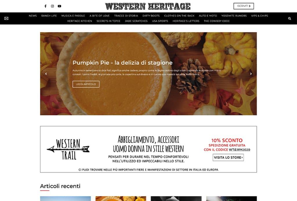 western heriatge portfolio anteprima new